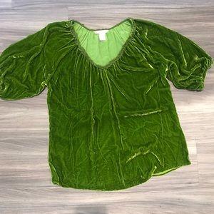 Sundance Tops - Sundace Velvet blouse